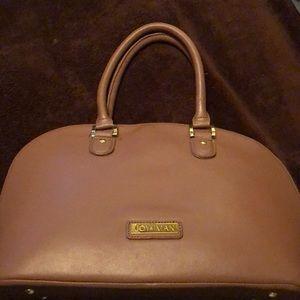 Joy & Iman tan handbag